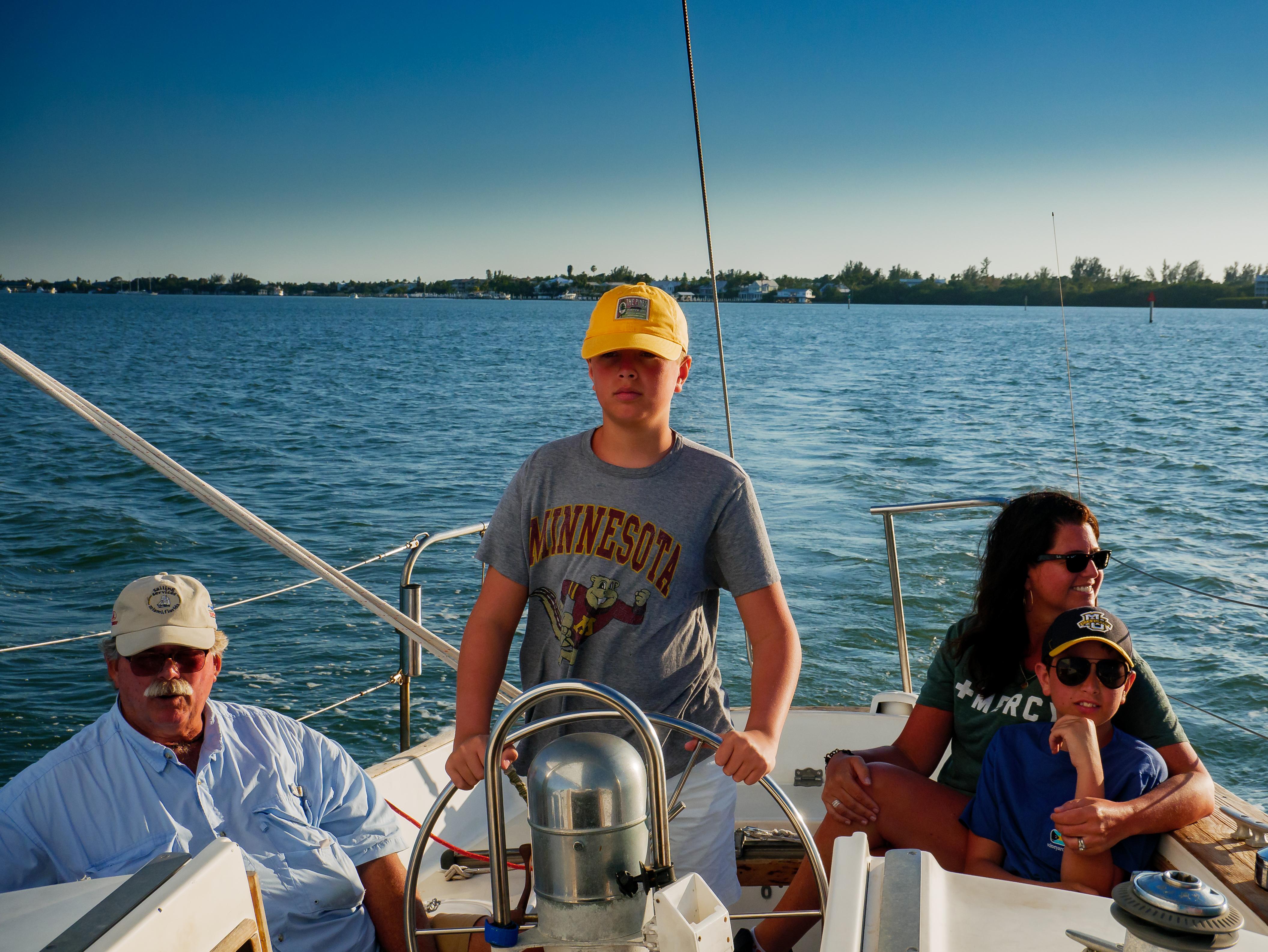 Sunset Cruise off Captiva, Florida